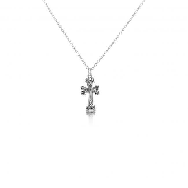925 sterling silver necklace Armenian Cross