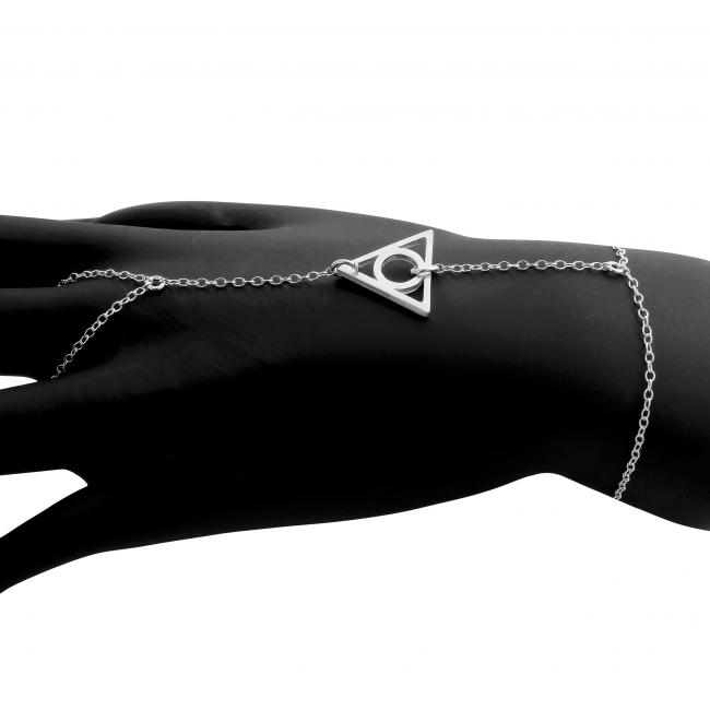 925 sterling silver bracelet <strong>Illuminati</strong>