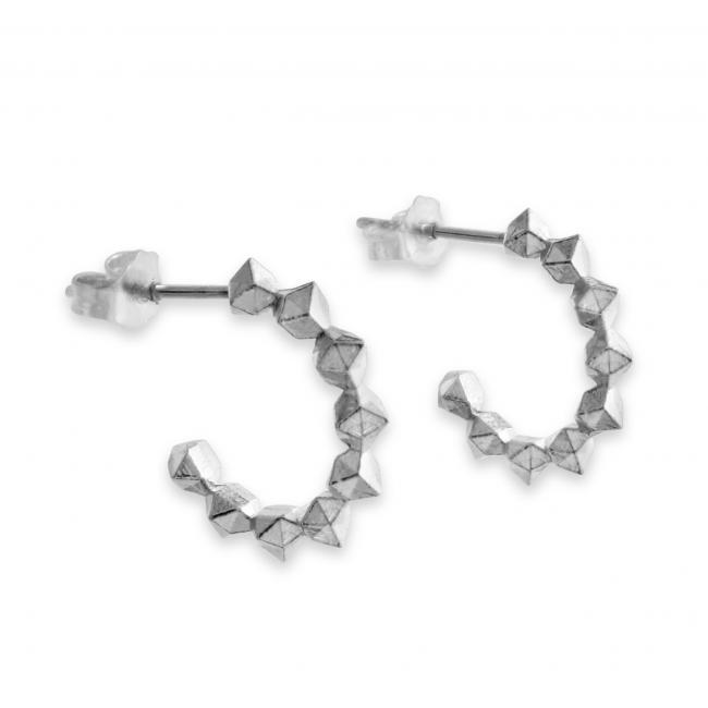 925 sterling silver earrings Geometric
