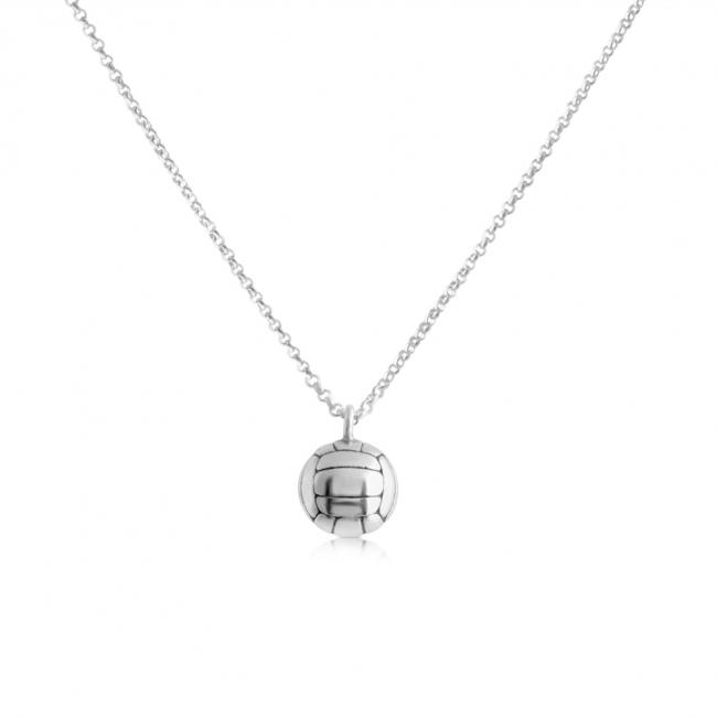 925 sterling silver necklace Volleyball Team Sport