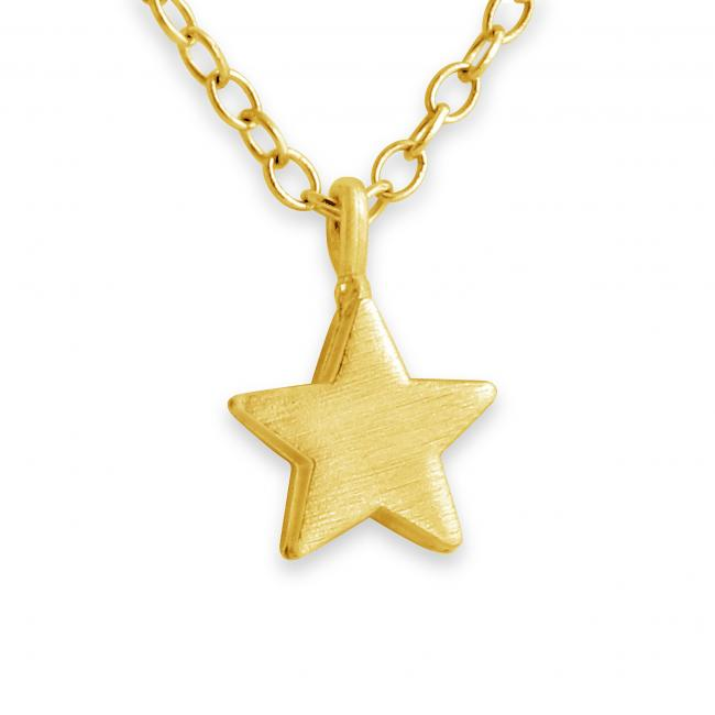 Gold plated necklace Tiny Star