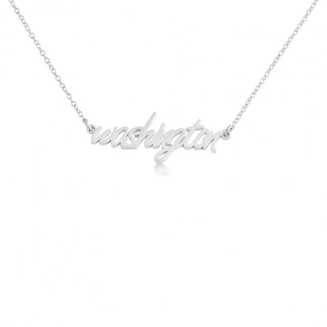 925 sterling silver necklace Washington State